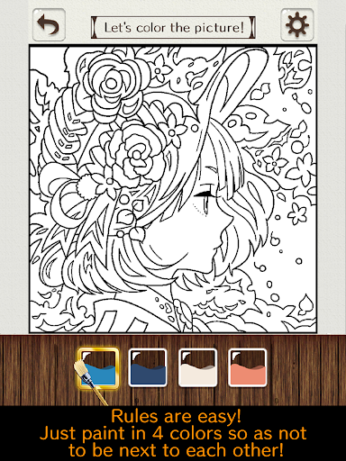 Coloring puzzle 2.5.0 Windows u7528 6