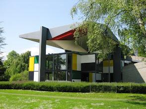 Photo: Heidi Weber Pavilion (Centre Le Corbusier), Zurich by Le Corbusier
