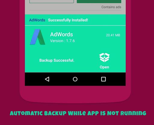 Backup and Restore - App, Contacts, Sms , Calllogs 2.0.50.98 screenshots 8