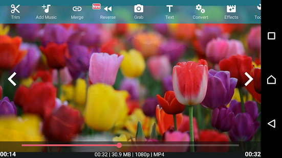 AndroVid - Video Editor – Miniaturansicht des Screenshots