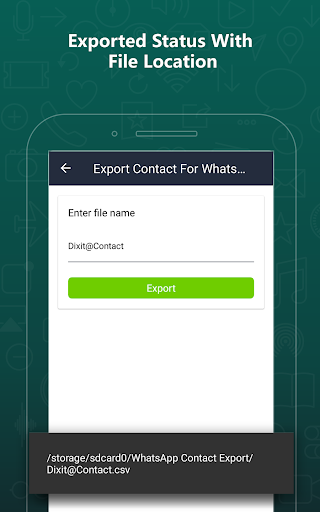 Export Contacts For WhatsApp 2.9 screenshots 13