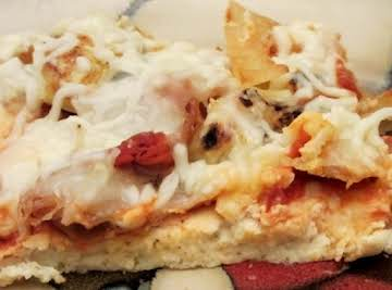 Low Carb Wheat Free Pizza