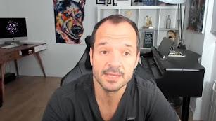 Ángel Martín en el video difundido.