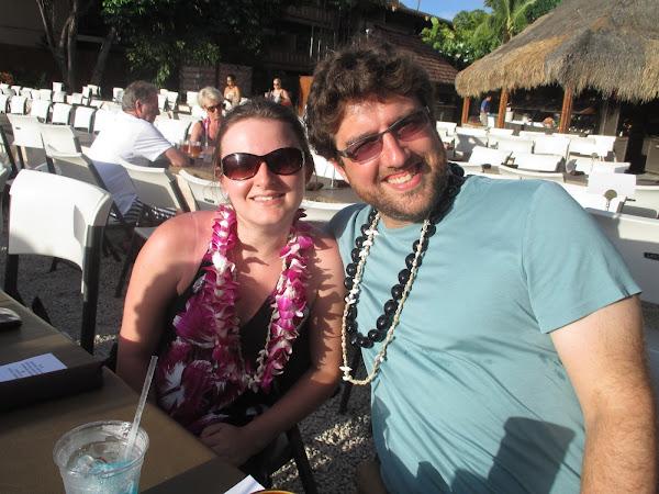 Us at a Maui Luau