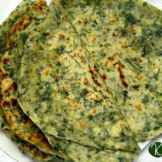 Coriander Paratha Recipe {step by step guide}