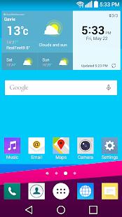 G4 UX 4.0 Theme for LG G6 G5 V30 G4 G3 V20 V10 K10 - náhled