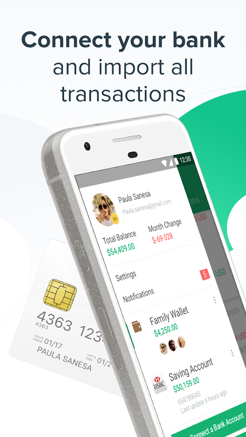 Spendee - Budget & Money Tracker with Bank Sync Screenshot 1