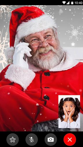 Santa Claus video call prank screenshot 2
