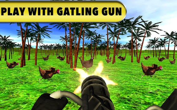 Chicken Hunting Challenge: Roaster Bow Shooting 3D apk screenshot