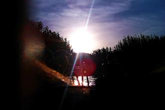 Photo: No puedo volar, pero puedo imaginar que vuelo... The lasts summer sunsets.