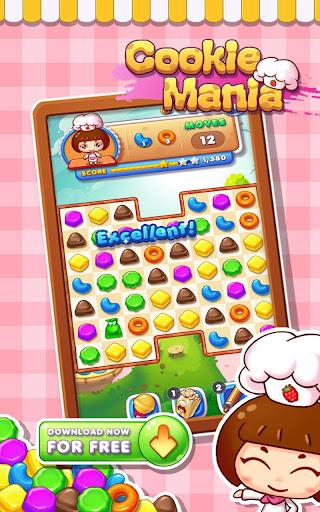 Cookie Mania - Match-3 Sweet Game  screenshots 8