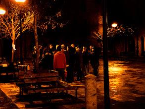 Photo: ambient arrivant a la Plaça Gran