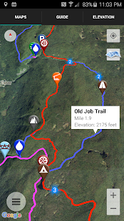 Guthook's Long Trail Guide- screenshot thumbnail