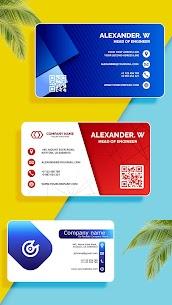 Business Card Maker, Visiting Card Maker (MOD, Pro) v32.0 3