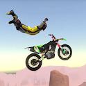 Moto Bike Stoppie Kiss wheelie Stunts icon