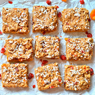 Cranberry Apricot Oatmeal Bars