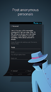 Anonymous Dating and Chat FREE- screenshot thumbnail