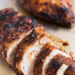 Grilled Cajun Chicken Dry Rub Seasoning.