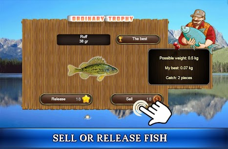 Fish Rain: Sport Fishing Games Mod Apk (Unlimited Money) 4