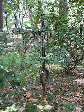Photo: Krzyż na mogile w kwaterze na cmentarzu św. Rozalii w Bochni