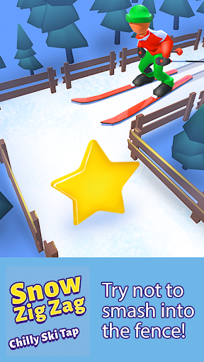 La Neige Zig Zag: Frileux, Ski Appuyez Sur  captures d'écran 2