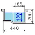 Rectangular pool icon
