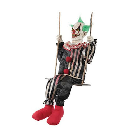 Prop animerad, gungande clown