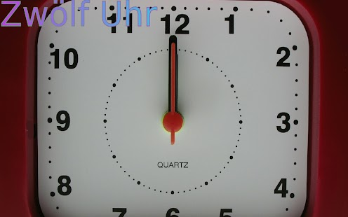 Tell The Time In German- screenshot thumbnail