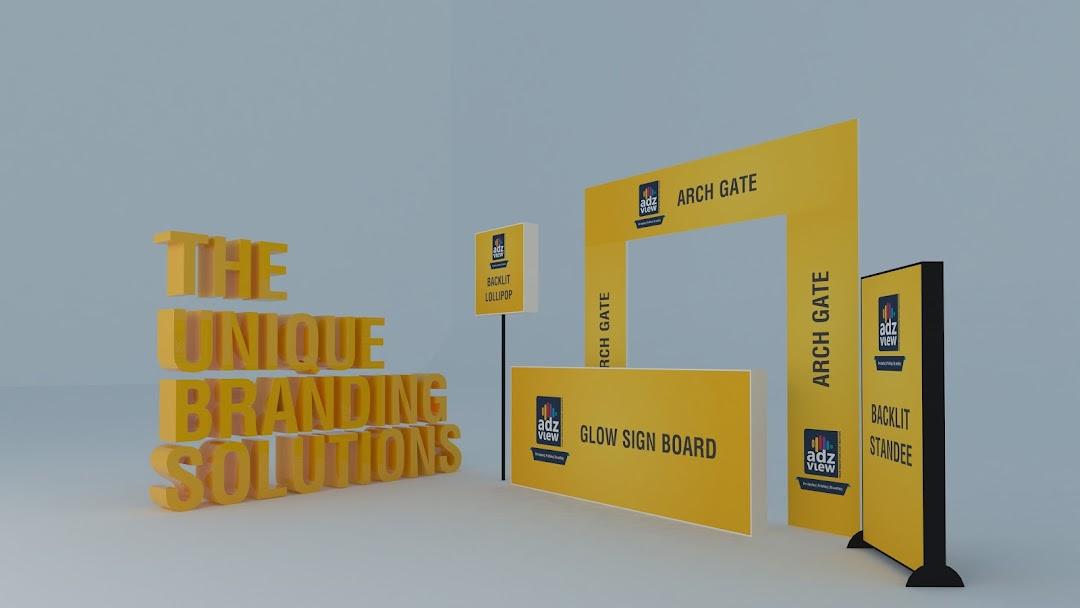 Exhibition Stall Branding : Adzview advertising vinyl printing inshop branding event