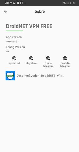 DroidNET VPN FREE 1.4.5 screenshots 5