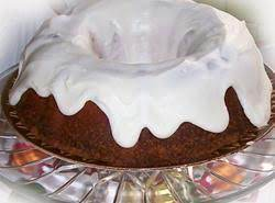 Mellina's I Love Lemon Pound Cake W/snow Cap Frosting