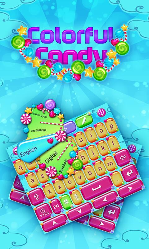 Colorful-Candy-Keyboard-Theme 7