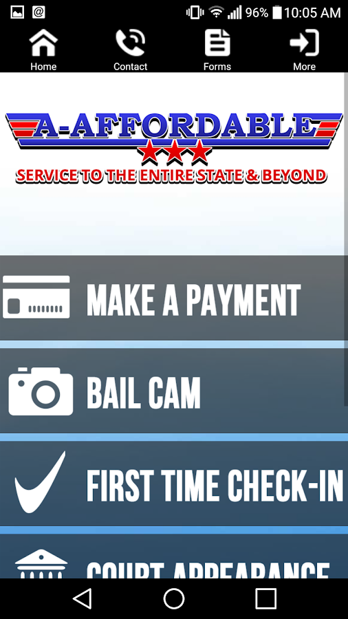 A-Affordable Bail Bonds- screenshot