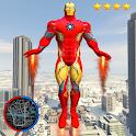 Super Iron Rope Hero - Fighting Gangstar Crime icon
