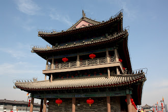 Photo: Day 188 -  The End of the Gate Tower at East Gate on Old City Wall in Xi'an