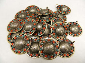 Photo: Vintage Tibetan Pendants at Objets D'Art