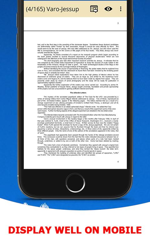PDF Reader & PDF Viewer Ebook- screenshot