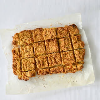 Apricot, Coconut and Oat Slice.