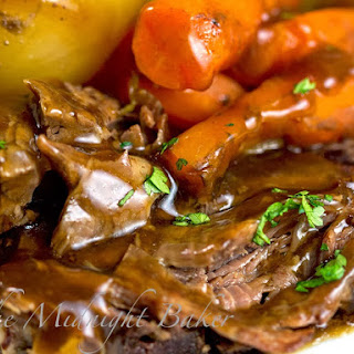 Slow Cooker Classic Pot Roast.
