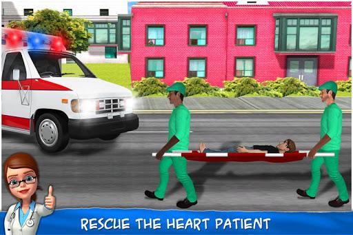 Heart Surgery Doctor - ER Emergency Game 2.1 screenshots 3