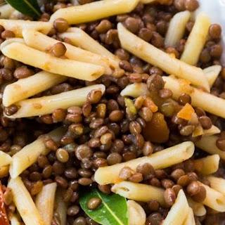 Lentil and Pasta Soup