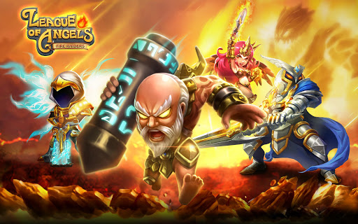 League of Angels -Fire Raiders screenshot 1