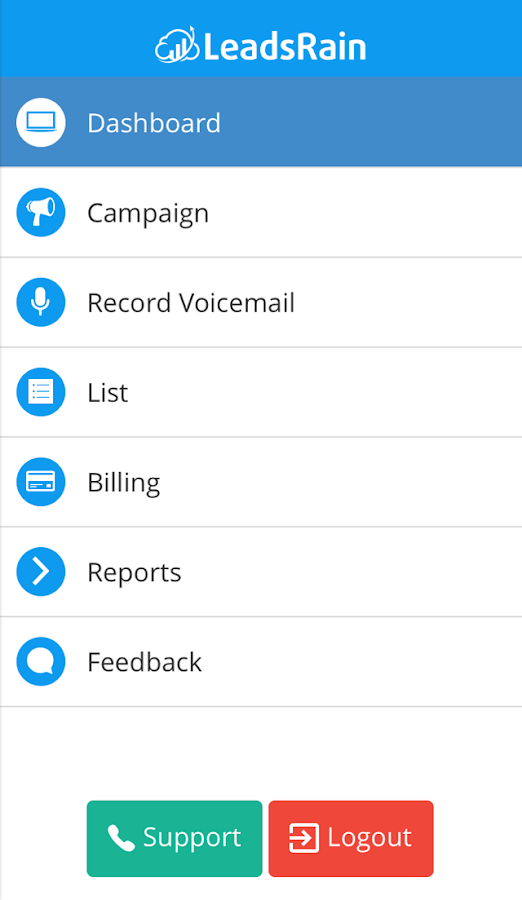 LeadsRain - Ringless Voicemail- screenshot
