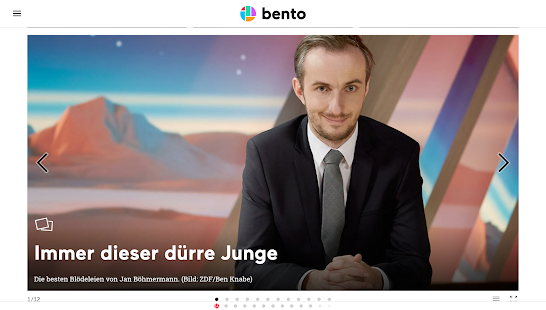 bento - news, web, stories- screenshot thumbnail