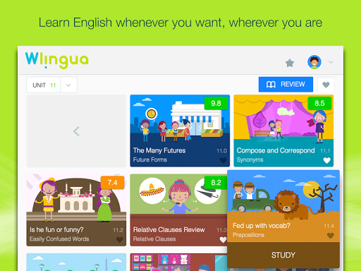 Advanced English with Wlingua screenshot 10