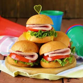 Ham Steak Sandwich Recipes.