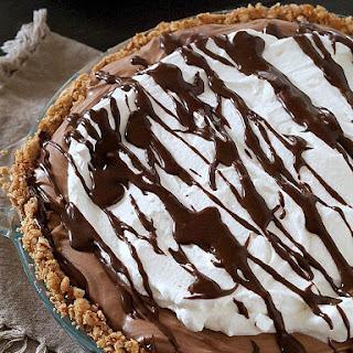 No Bake Gluten Free Chocolate Cream Pie