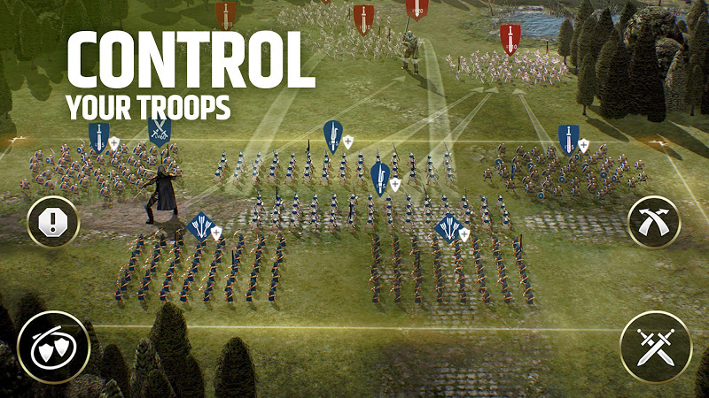 Dawn of Titans - Epic War Strategy Game Screenshot 12