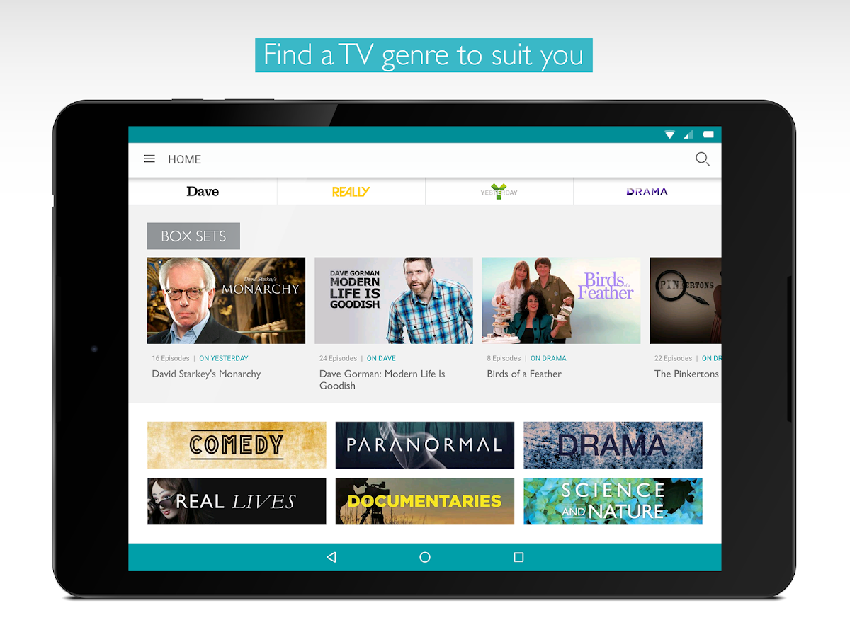 UKTV Play - the free on demand TV app.- screenshot