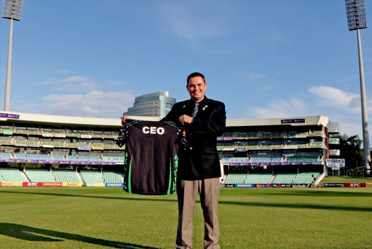 KwaZulu Natal Cricket Union CEO Heinrich Strydom during the Dolphins media briefing at Sahara Stadium Kingsmead on May 16, 2017 in Durban, South Africa.